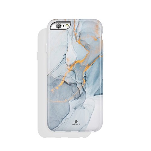 iPhone 6 & iPhone 6s Case Marble, Akna Charming Series High Impact Silicon Cover with HD Graphics for iPhone 6 & iPhone 6s (101304-U.S) by Akna