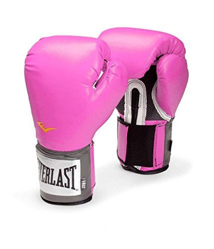 (Everlast Pro Style Training 8-12oz Boxing Gloves in Pink for Women (12)