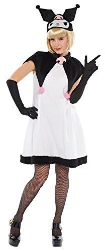 Sanrio Kuromi Costume - Teen/Women's STD Size -