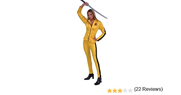 Adulto Mujer Disfraz De Kill Bill (Tamaño: Medio 4 – 6): Amazon.es ...