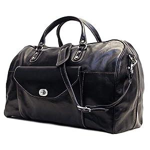 Floto Monteverde Italian Leather Carry On Duffle Bag 5