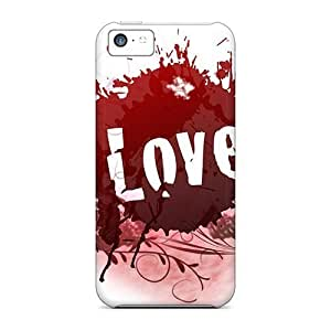Bernardrmop Case Cover For Iphone 5c - Retailer Packaging Love Protective Case