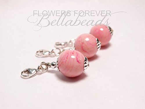 Flower Petal Keepsake Beads, Memorial Bouquet Charms, Memorial Beads, Funeral Flowers, Wedding Flowers, Pet Memorial, One Small Flower Petal Bouquet Charm