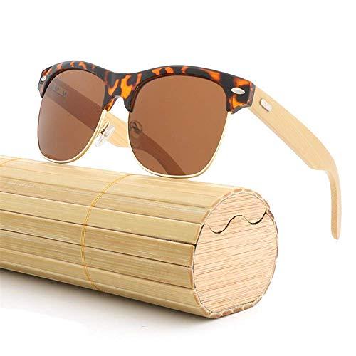 Bambou Lunettes de en Film Couleur Crapaud Soleil G Frame ZhongYi Sourcil Bois métal RnqBaSx