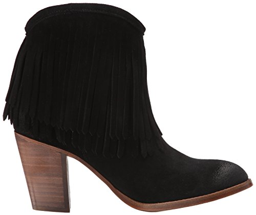 FRYE Mujer Ilana Fringe corto Western Boot Black-76808