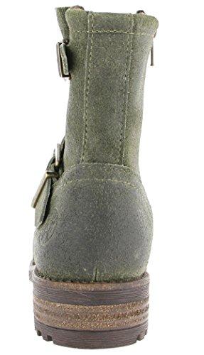 Bullboxer AHT500E6 Kinder Stiefel Bottle (Grün)