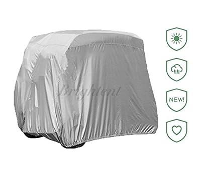 4 Passengers Golf Cart Cover For Yamaha EZ-GO Club Car Protection XGF2S