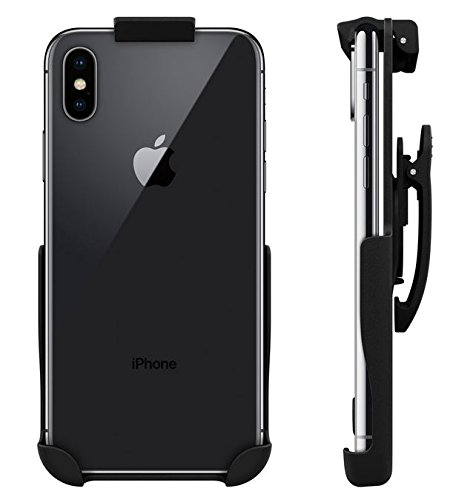 Seidio Spring Clip BELT HOLSTER for the (un-cased) Apple iPhone X (Seidio Swivel Holster)
