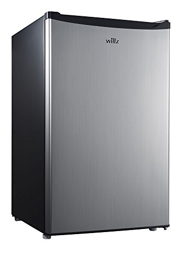 Willz WLR35S1 3.5 cu.ft. Refrigerator Single Door/ Chiller, Stainless steel