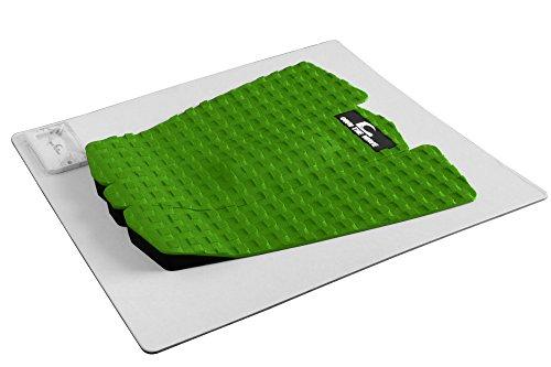 Own the Wave 3-Piece Grip Pad (EVA Foam - 3M Sticker) w/Wax Comb - Green