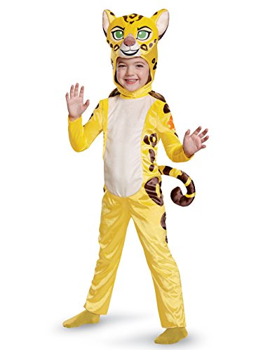 Fuli Classic Toddler Costume, Yellow, Large