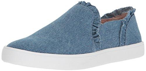 Kate Schop New York Womens Lilly Sneaker Lichtblauw Denim