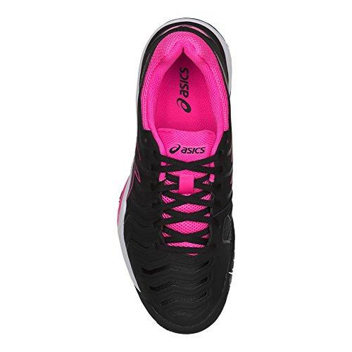 Asics Vrouwen Gel-challenger 11 Tennisschoen Zwart / Zwart / Roze
