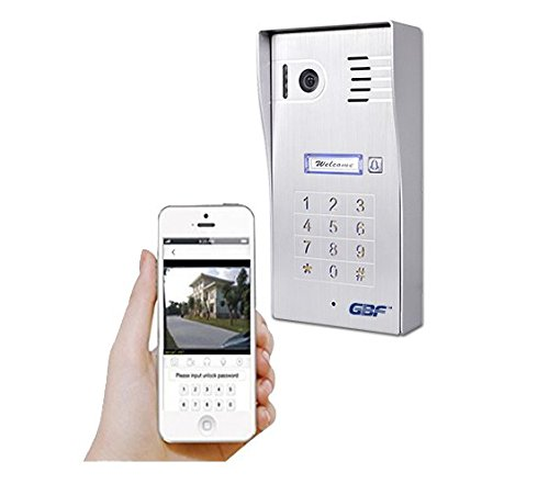 Gate Keypad (GBF New Upgraded -Global Wireless Video Doorphone & Doorbell WI-FI Intercom System Night Vision Weatherproof)