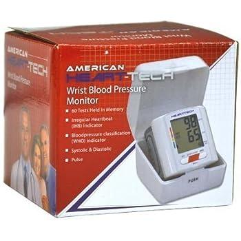 American Heart-Tech Wrist Blood Pressure Monitor by American Heart-Tech