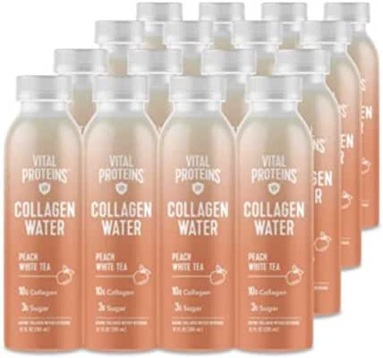 Vital Proteins Collagen Water (Peach White Tea, 16 pack)