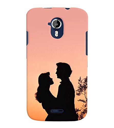 low priced 02134 20ad6 TOUCHNER Couple 2 Back Case Cover for MICROMAX A111: Amazon.in ...
