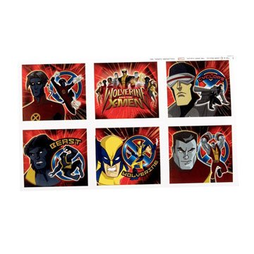 - Wolverine Stickers 4 Sheets