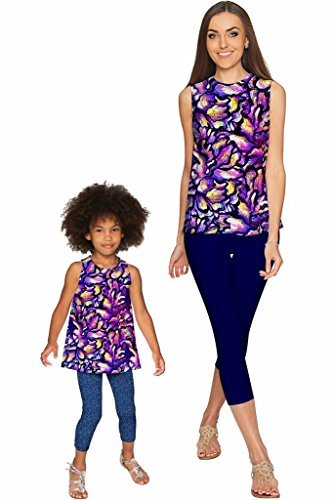 PINEAPPLE CLOTHING Make a Wish Emily Sleeveless Party Top - Mommy & Me 4X-Large