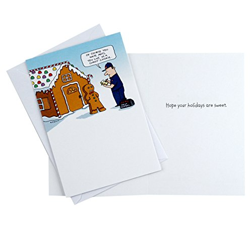 Hallmark Shoebox Funny Happy Holidays Greeting Cards Assortment (6 Holiday Cards, 6 Envelopes) Photo #6