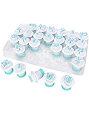 26PCS Cookie Cutters Set Letter - Shape DIY Biscuit Baking Mold Fondant Cutter Cookie Mould Cake Decorating Tool