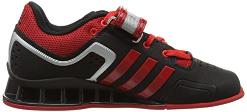 Adipower Mixte Adulte Adidas Indoor black Black Scarlet Multisport litht Chaussures 4vIIOqxn