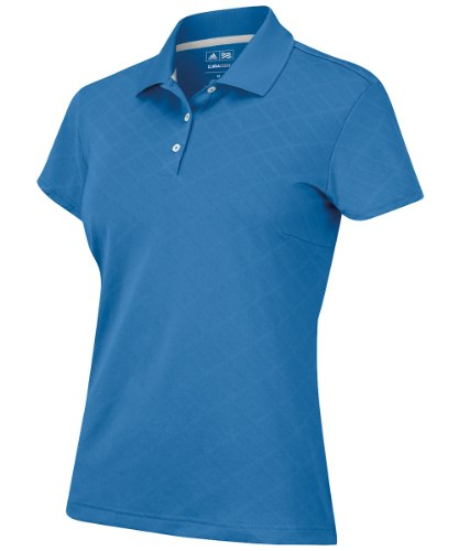 Adidas Golf Climacool Oasis (adidas Golf Women's Climacool Textured Solid Polo, Oasis, Small)