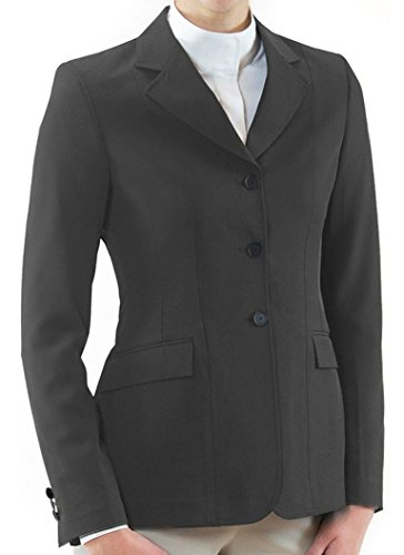 RJ Classics Ladies Nora Zip Hunt Coat- Grey (10R)