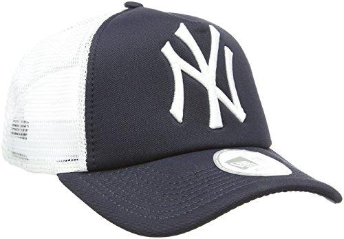 New Era Unisex Baseball Cap Mütze MLB Clean Trucker NY Yankees, Navy/White, One Size, 10531936