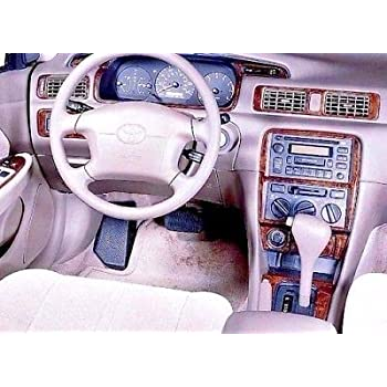 Toyota CAMRY INTERIOR BURL WOOD DASH TRIM KIT SET 1997 1998 1999 2000 2001