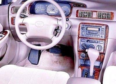 - Toyota CAMRY INTERIOR BURL WOOD DASH TRIM KIT SET 1997 1998 1999 2000 2001