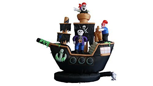 BZB Goods 7 ft. Pirate Ship (Diy Disney Family Costumes)