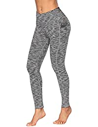 High Waist Yoga Pants, Pocket Yoga Pants Tummy Control...