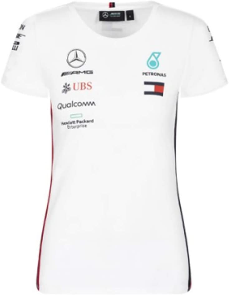 Mercedes-AMG Petronas Motorsport 2019 F1 Womens Team T-Shirt Black