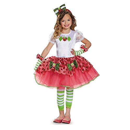 Disguise Strawberry Shortcake Tutu Prestige Costume, Small
