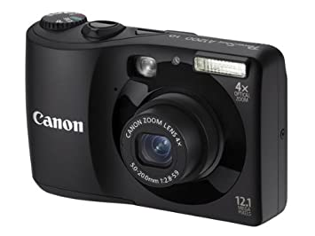 Canon PowerShot A1200 - Cámara Digital Compacta 12.1 MP (2.7 ...