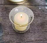 D'light Online 15 Hour Unscented Ivory Wax Bulk