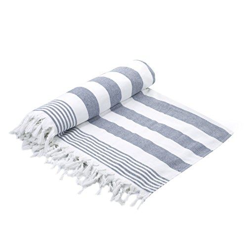Cottonna 100% Luxury Turkish Cotton Oversized Beach Blanket,