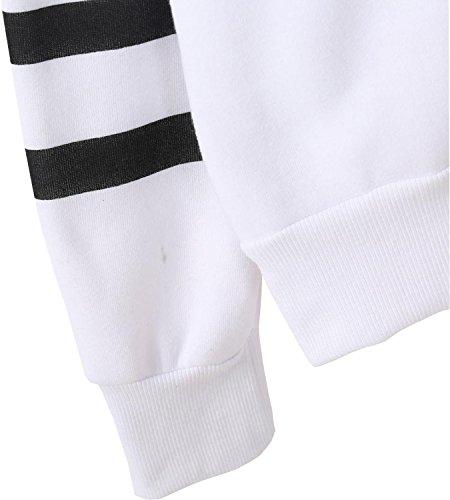 mujer sudadera blanco 365 cintura compras Imperio w6qtI0F