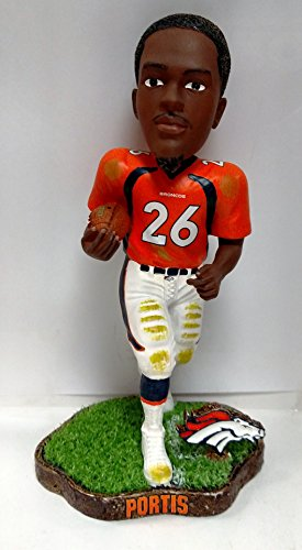 Denver Broncos Clinton Portis Orange Game Worn Series -