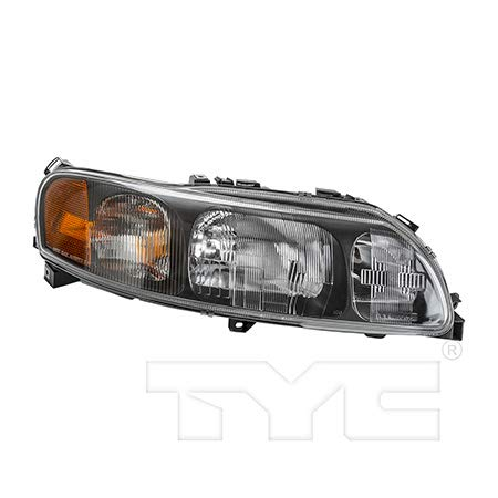 CarLights360: Fits 2001 2002 2003 2004 Volvo S60 Headlight Assembly Passenger Side (Right) NSF Certified w/Bulbs Halogen Type - Replacement for VO2503113 (Headlight Volvo S60 Headlight)