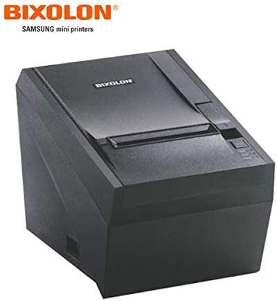 3 Print Width 180 dpi Print Resolution Black 7.87 in//s Print Speed Bixolon SRP-350II Monochrome Desktop Direct Thermal Receipt Printer with USB interface 24 VDC
