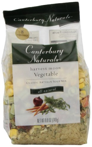 Canterbury Naturals Harvest Moon Vegetable Quick Cook Soup Mix, 8.8-Ounce Bags (Pack of 6)
