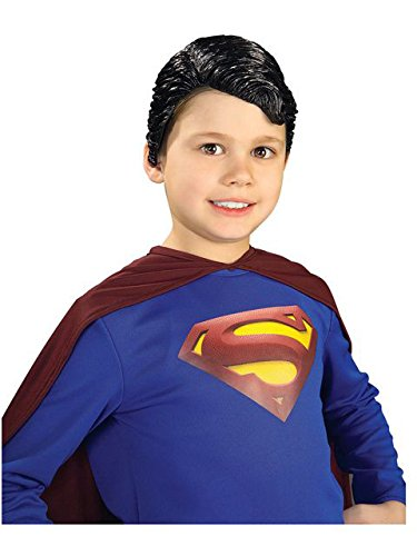 Superman Vinyl Wig Child Rubie