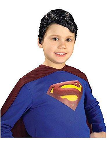 Superman Vinyl Wig Child Rubie's Costume