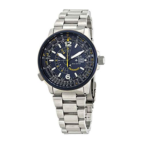 - Men's Citizen Eco-Drive Blue Angels Promaster Nighthawk Bracelet Watch BJ7006-56L