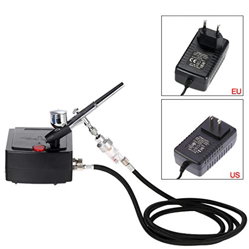 Used, Shipping From RU 100-250V Mini Dual Action Airbrush for sale  Delivered anywhere in USA