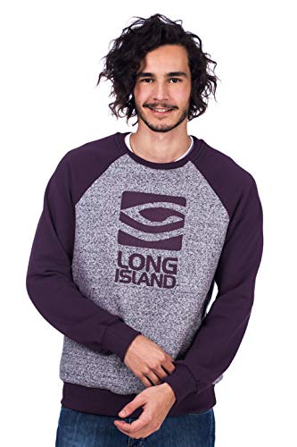 Moletom Long Island Rc Roxo