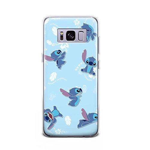 GSPSTORE Galaxy S8 Plus case Lilo & Stitch Cartoon Cute Case Hard Plastic Protector Cover for Samsung Galaxy S8 Plus #Color 8