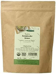 Davidson's Tea Bulk, Gunpowder Green, 1-Pound Bag
